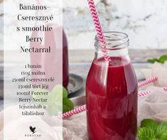 Banános-Cseresznyés smoothie #BerryNectar-ral