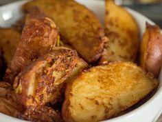 4-Ingredient Crispy Roasted Potatoes
