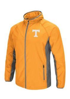 Colosseum Athletics Tennessee Volunteers Archer Full Zip Hooded Jacket - Orange - 2Xl