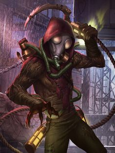 Mortal Kombat Online - DC Universe Injustice - Scarecrow Injustice ...