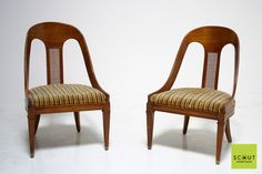 Amazing mid century spoon chairs - $495 at Scout Design Studio
