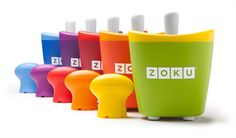 No sharing required! The patented Zoku Single Quick Pop Maker freezes ice pops in as little as seven minutes right on your countertop without electricity. The Zoku Single makes the same size pops as the original Quick Pop Maker, and it freezes them just a Zoku Popsicle Maker, Popsicle Molds, Popsicle Recipes, Ice Pop Maker, Ice Cream Maker, Retro Party, Freeze Pops, Homemade Popsicles, Cool Mom Picks