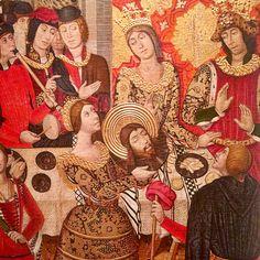 La décollation de saint Jean Baptiste - Pere Garcia de Benevari, c. 1470. Musée d'Art de Catalogne, Barcelone.