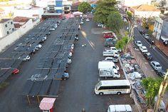 Estacionamento que deve ser desapropriado para a construção de um terminal no centro