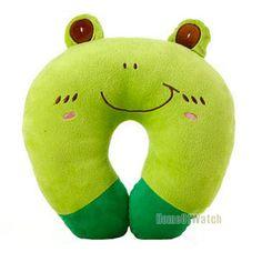 100% Brand New U-shaped Pillow Cute Cartoon Neck Decompression Pillow (NAT0NP12004-GR3)
