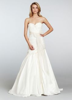 Spring 2013 Wedding Dress Hayley Paige bridal gowns 6311 Dresses, and Fashion, Paige, Wedding Dress Gallery, 2015 Wedding Dresses, Designer Wedding Dresses, Wedding Gowns, Hayley Paige Bridal, Wedding Sash, Ivory Wedding, Wedding Bells, Fit And Flare Wedding Dress
