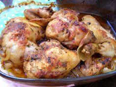 W Mojej Kuchni Lubię.. : porcje kurczaka z piekarnika na ostro...
