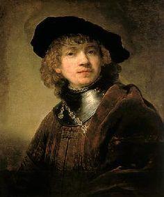 Zelfportret Rembrandt