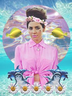 ♡ marina and the seapunks lol ♡ | via Facebook na We Heart It http://weheartit.com/entry/82661514/via/h4llucination