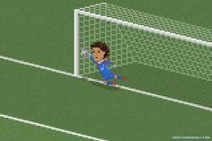 Guillermo Ochoa's save against Brazil WC 2014