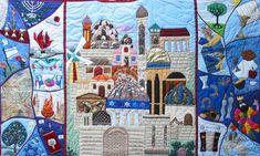 Jewish art quilt