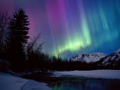 Northern Lights--Alaska This would be absolutly beautiful.