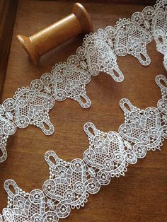 Hey, I found this really awesome Etsy listing at https://www.etsy.com/listing/206735252/ivory-crochet-lace-trim-crochet-trim