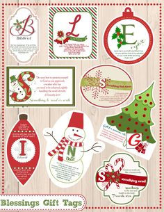 Looking for a fun and unique way to give gifts to your children this year? You'll love these FREE printable blessings gift tags! Create a new tradition this year! Christmas Games, Christmas Activities, Christmas Printables, Christmas Traditions, Christmas Holidays, Christmas Ideas, Merry Christmas, Christmas Wrapping, Valentines Bible Verse