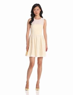 Amazon.com: French Connection Women's Eyelets Dress: Clothing