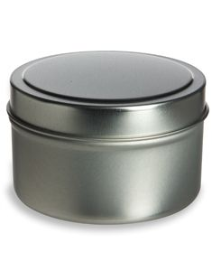 Specialty Bottle - 6 oz Deep Tin Container with Slip Cover, $0.93 (http://www.specialtybottle.com/metal-tin-containers/deep-flat-slipcover/6oz-tnd6)