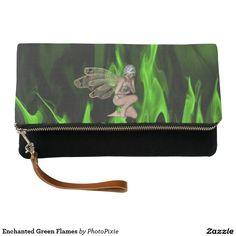 Enchanted Green Flames