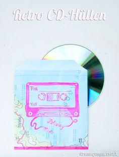 Linoldruck - CD Hüllen