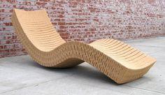 Wow this is Recycled Cork Chaise!!    By Daniel Michalik  danielmichalik.com