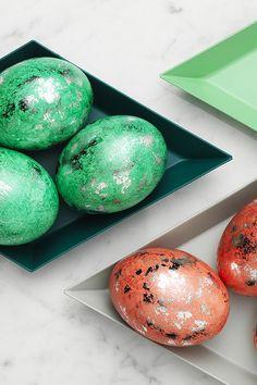 Shiny eggs www.pandurohobby.com  #Panduro #easter #DIY #egg #panduro