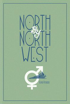 Filmdoo North by Northwest Poster on Behance North By Northwest, Poster On, North West, Competition, Creativity, Behance, Graphic Design, Decor, Decorating