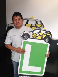 ROMAN RAFAEL ZAVALETA!!! #hoyvoy #autoescuela #hospitalet