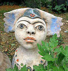 Socha - kvetová víla - 8348069_ Garden Sculpture, Sculptures, Outdoor Decor, Artwork, Pots, Home Decor, Work Of Art, Decoration Home, Auguste Rodin Artwork