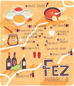 Patrick O'Leary - Map of Fez
