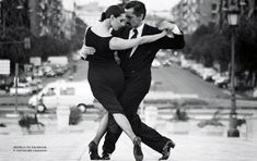 oh, I want to dance tango with you on the street...