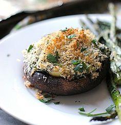 Spinach and Artichoke Stuffed Portobellos from www.preventionRD.com