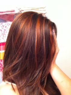 30 Chic Highlight Ideas For Your Brown Hair Hair Pinterest
