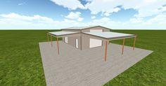 Dream #steelbuilding built using the #MuellerInc web-based 3D #design tool http://ift.tt/1MNPl0q