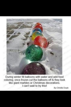 Fun Winter Outdoor Decor