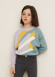 Cardigans et pull-overs pour Fille 2019 Fashion Kids, Kids Winter Fashion, Outfits For Teens, Cool Outfits, Jersey Jacquard, Little Girl Models, Outfit Invierno, Zara Kids, Girls Sweaters