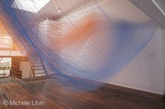 Ruled Surfaces & String Sculptures : New Textiles 2012
