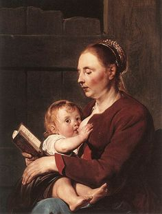 Mother and Child by Pieter Fransz. de Grebber (circa 1600-1652/1653)