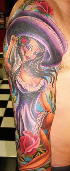 Tattoo Artist - Aj Sacred Rose | www.worldtattoogallery.com/tattoo_artist/aj_sacred_rose