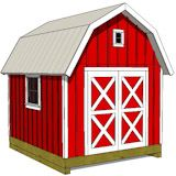 Barn sheds bring a little country into the backyard!