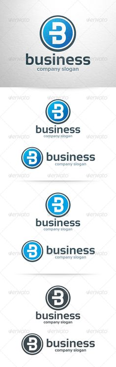 Business Letter B - Logo Design Template Vector #logotype Download it here: http://graphicriver.net/item/business-letter-b-logo-template/6550946?s_rank=1322?ref=nexion