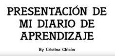Cristina Chicón #GrupoC #EduNarraDig Narrativa Digital, Finals, Diaries, Classroom, Learning