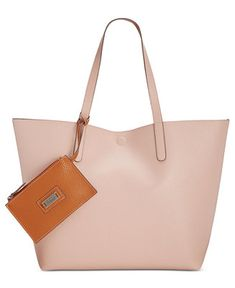 Style & Co Clean Cut Reversible Tote with Wristlet, Only at Macy's - Handbags & Accessories - Macy's