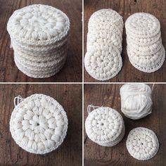 Yarn Crafts, Diy And Crafts, Arts And Crafts, Crochet Home, Diy Crochet, Diy Presents, Crochet Fashion, Design Crafts, Crochet Flowers