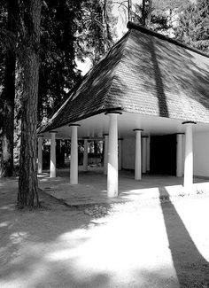 Woodland Cemetery, Asplund & Lewerentz, 1930s Sockenvagen, Stockholm, Sweden