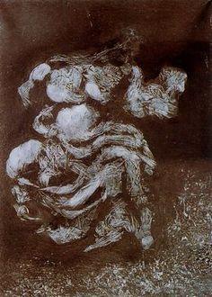 Una parca del Partenón - Salvador Dalí - 1960. Óleo sobre lienzo. 42.5 x 30.7 cm. Donación de Dalí al Estado español. Fundación Gala-Salvador Dalí. Figueras. España.