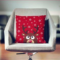 Regalo de Navidad Cojines de Navidad Almohada por wfrancisdesign