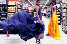 Fashion Editiorial: Dominique & Adau Mornyang by Damon Fourie for ...