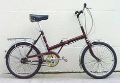 Raleigh Twenty Cool Bikes, Bicycles, The Twenties, Memories, Cool Stuff, Design, Memoirs, Souvenirs, Design Comics