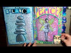 ▶ Art Journal Flip-Through 2.2 - YouTube