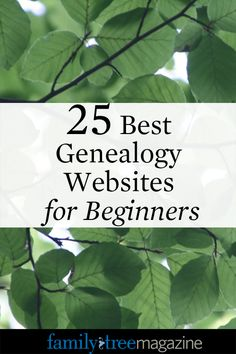 25 Best Genealogy Websites for Beginners - Family Tree Magazine Hit the online road with this travel guide of starter tips and sites guaranteed to rev up your ancestral search. Genealogy Websites, Genealogy Forms, Genealogy Search, Family Genealogy, Make A Family Tree, Family Tree Research, Family History, Making Ideas, American Women