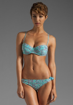 7d37f36de3db1 MARC BY MARC JACOBS Jamie Denim Underwire Bra in Powder Blue Cute Bras,  It s Summertime